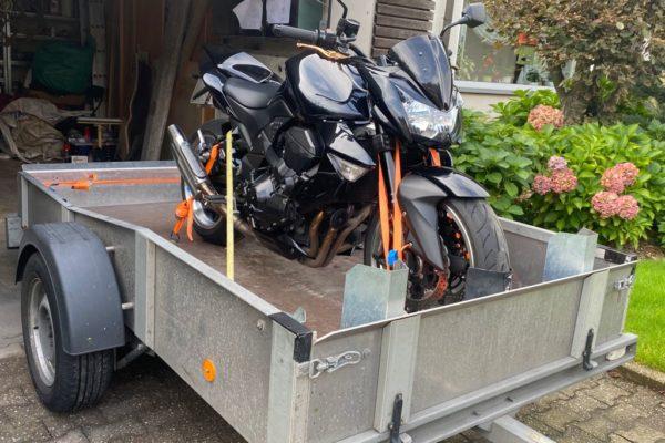 Motorrad Anhänger für weite Strecken